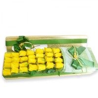 노란장미 꽃상자
